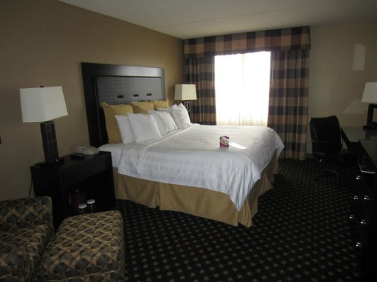 Crowne Plaza Indianapolis Airport : Bedroom