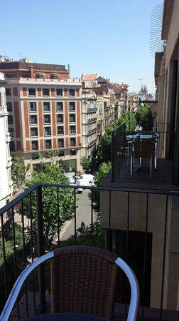 Hotel Balmes : Looking toward Sagrada Familia