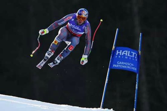 Garmisch-Partenkirchen Ski Resort: mens downhill