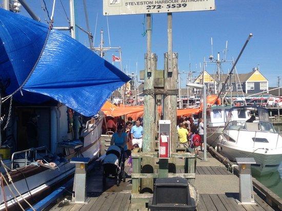 Steveston Heritage Fishing Village: Docks