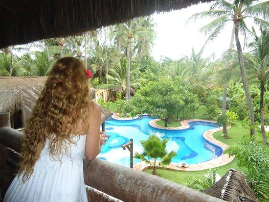 Orixas Art Hotel : Vista da piscina