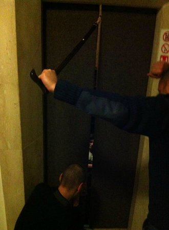 The St. George's Park Hotel: Friend stuck in the lift