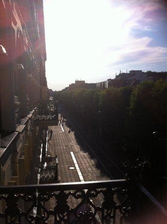 Kaunas Hotel: View from balcony
