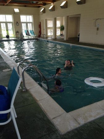 Marriott's Fairway Villas: The indoor pool