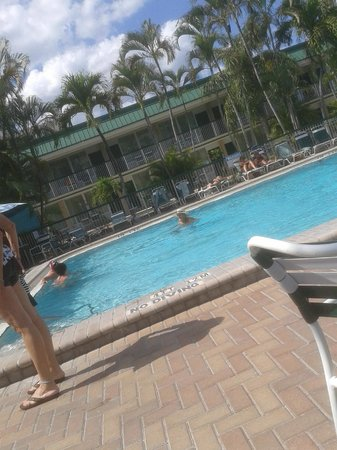 Wyndham Garden Fort Myers Beach: Der Pool