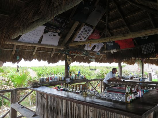 Andale Beach Bar : The bar