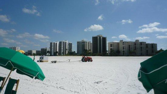 Wyndham Garden Fort Myers Beach : Vom Strand aus gesehen
