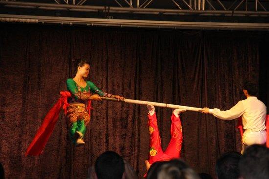 Invisa Hotel Club Cala Verde : Beijing Acrobats