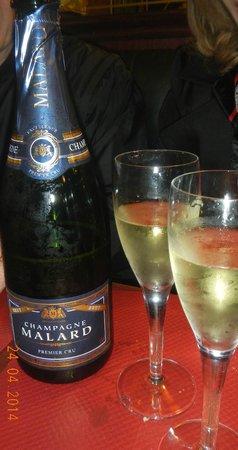 Le Progres : Champagne recomendada para a carne