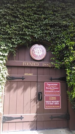 V. Sattui Winery: Step through to as pleasant time