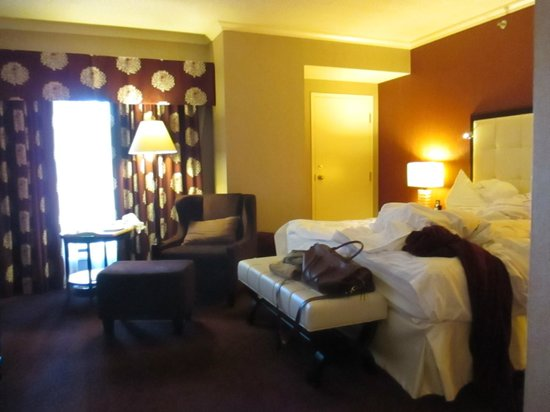 InterContinental Montreal : The room on the 16th floor
