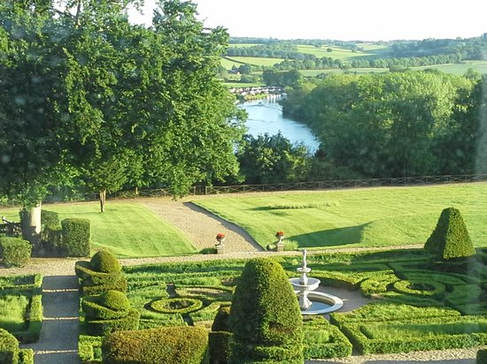 Danesfield House Hotel And Spa: view from bedroom