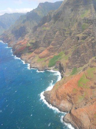 Jack Harter Helicopters - Tours : Na Pali coastline