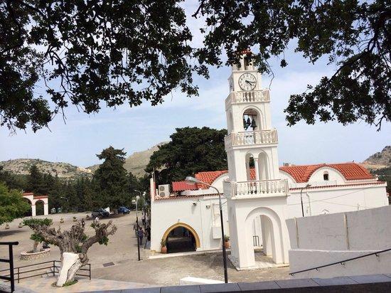 Monastery Tsambika: Церковь