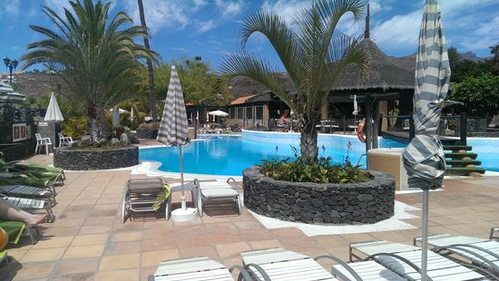 Beach club laurel picture of hotel jardin tecina playa for Aparthotel d or jardin de playa