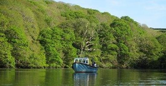 Mawnan Smith, UK: Cruising down Daphne du Maurier's inspiration Frenchman's Creek, Cornwall