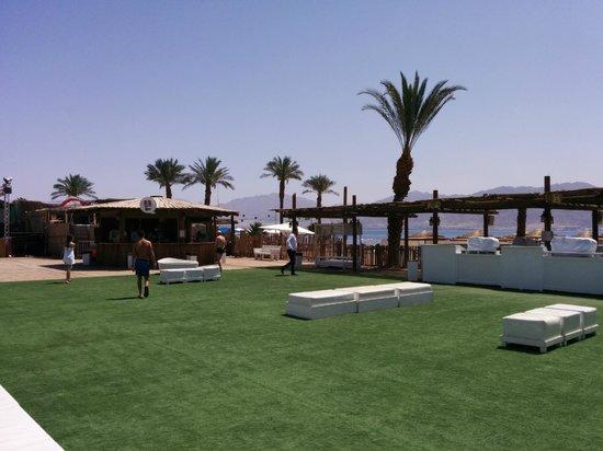 U Coral Beach Club Eilat: Próximo a praia