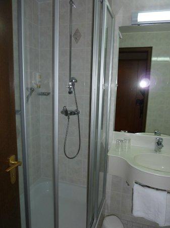 Hotel Hochfirst: douche