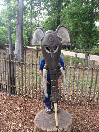 Birmingham Zoo: Interactive play area