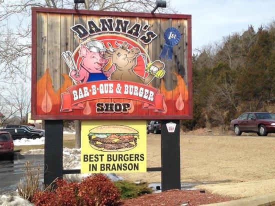 Danna's BBQ & Burger Shop: Branson MO