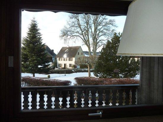 Hotel Hochfirst Garni: vue de la chambre