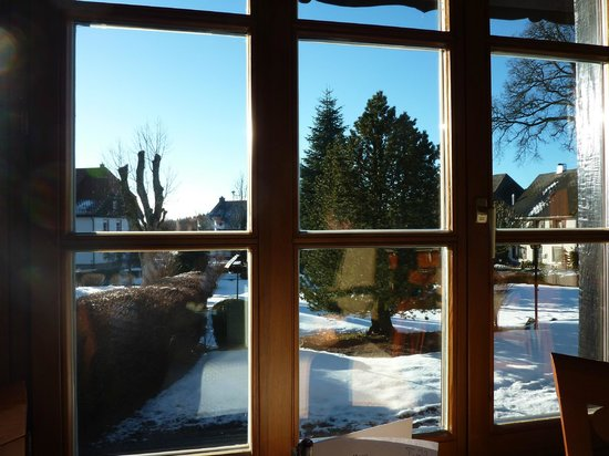 Hotel Hochfirst Garni: vue de la salle du petit déjeuner