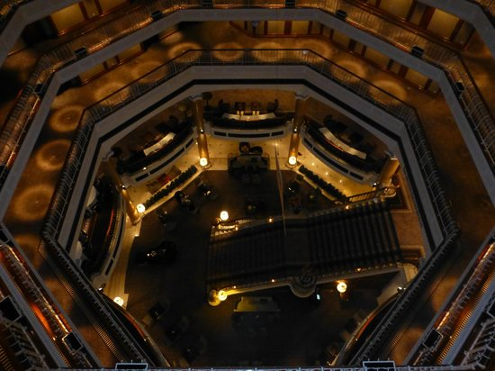 The Westin Grand Berlin: View (looking down) from 6th floor - truly beautiful!