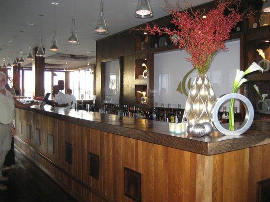 Belize Ocean Club Resort: Lounge Bar on Lagoon Side