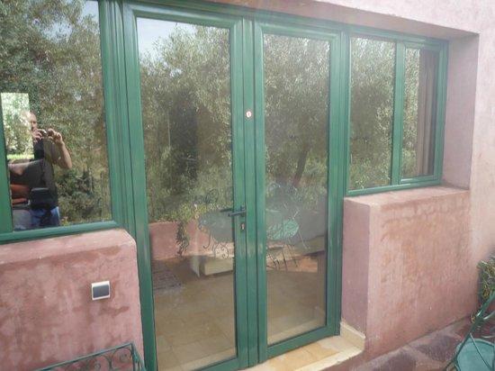 L'Oliveraie de Marigha: Eingang Terrassentür -  Terrace