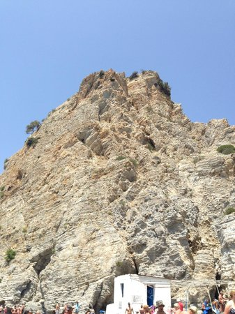 Therma Beach: cliff