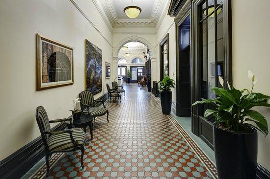 Heritage Christchurch: Hotel Lobby
