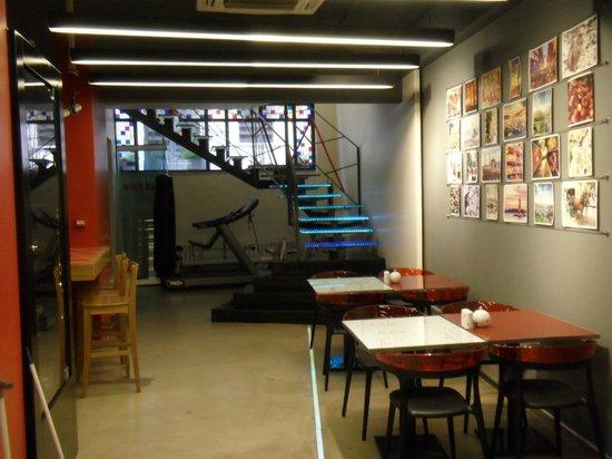 Nuru Ziya Suites : salle petit dejeuner