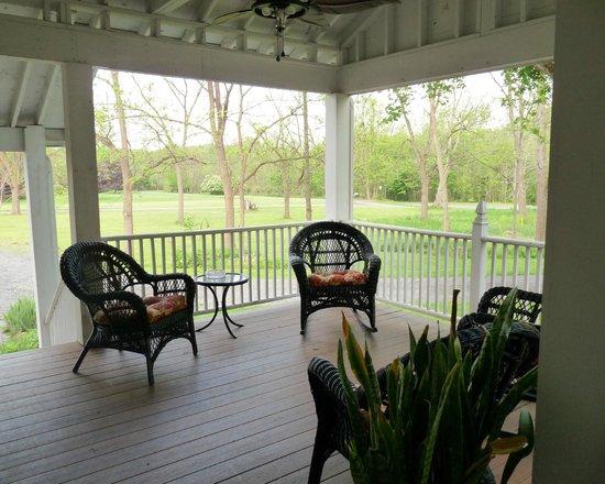 Halsey House: Porch