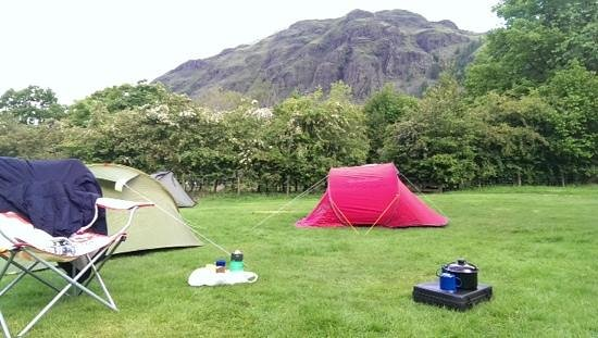 National Trust Campsite - Great Langdale: a Fab view to wake up to