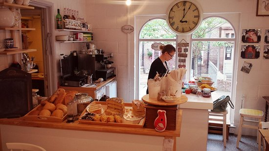I Love Cafe Carlisle: fresh food prepared in front of your eyes