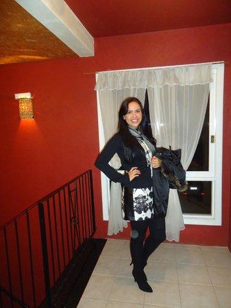 Hotel Pousada Tango: Eu, indo jantar. =)