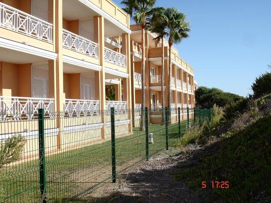 Hotel Barrosa Park: vista desde la playa