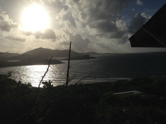 Virgin Islands Campground : Morning view from Cabin 6