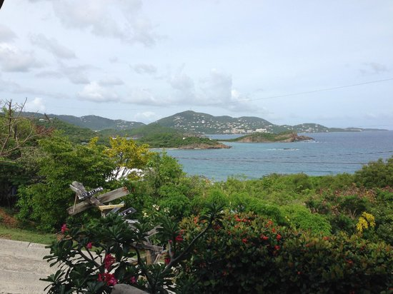 Virgin Islands Campground : Pavilion view