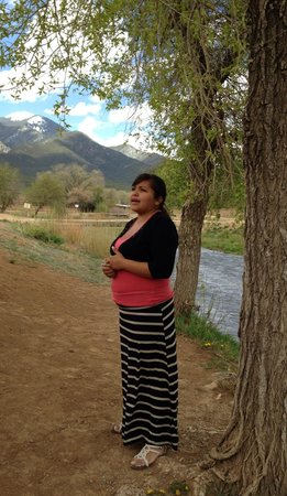 Taos Pueblo: Our lovely guide