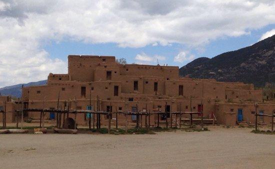 The outstanding Taos Pueblo