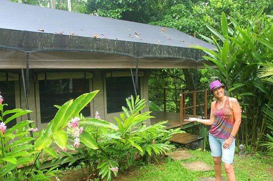 Rio Tico Safari Lodge: Wonderful tent !!
