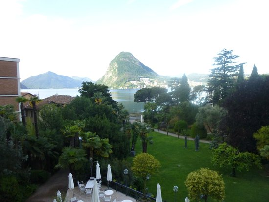 Grand Hotel Villa Castagnola: View from my room