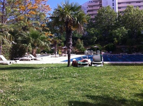 Apartamentos Jardins da Rocha: pool area