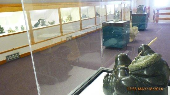 Nunatta Sunakkutaangit Museum: Upper level