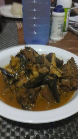 Calabar Kitchen: Bush meat vegetable soup