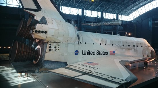 Smithsonian National Air and Space Museum Steven F. Udvar-Hazy Center: Space Shuttle