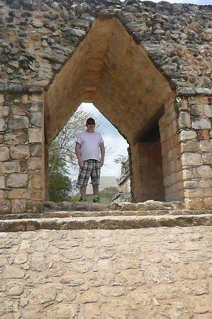 Ek Balam Mayan Ruins : Entrance