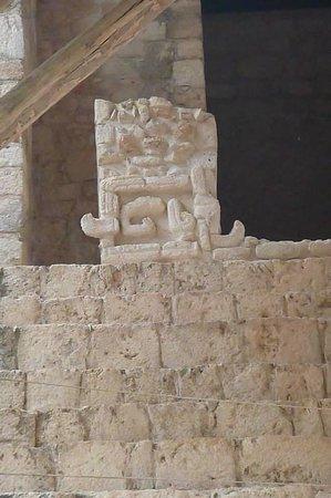 Ek Balam Mayan Ruins : Amazing carvings