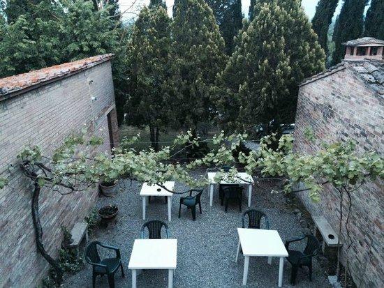 Casa Cecchi B&B : zona donde se sirve el desayuno